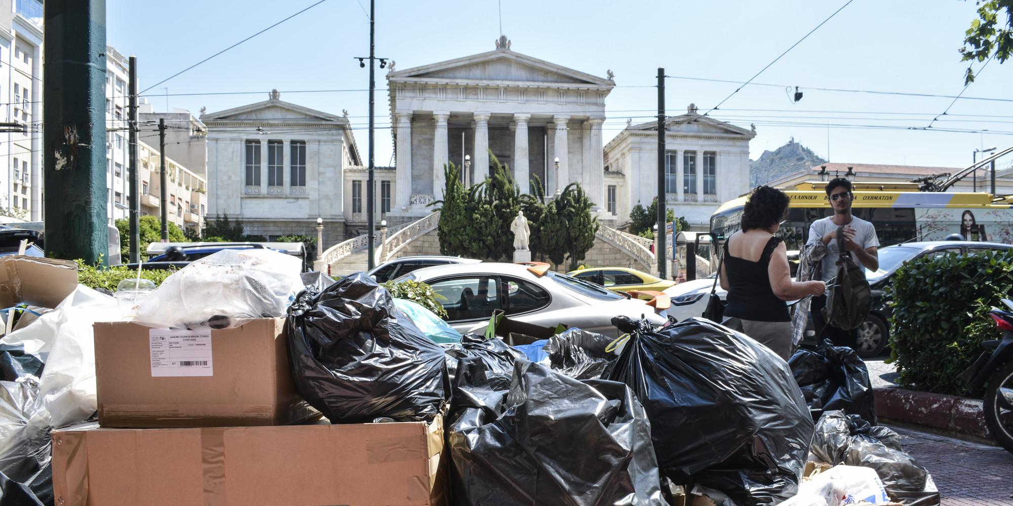 Απορρίμματα στους δρόμους – Όταν χάνονται τα αυτονόητα και επικρατεί ο κρατισμός…