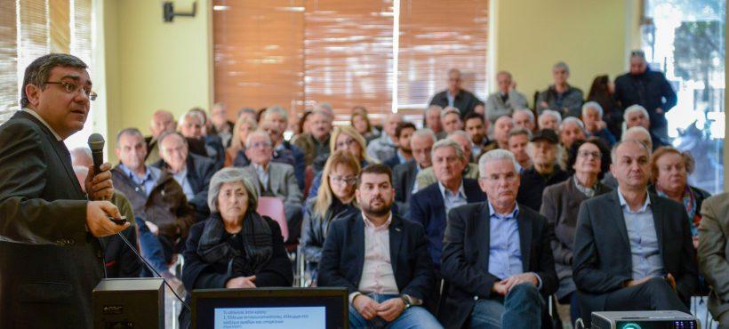 Ομιλία μου στη Μεταμόρφωση, Κυριακή 24 Μαρτίου, Πνεματικό Κέντρο