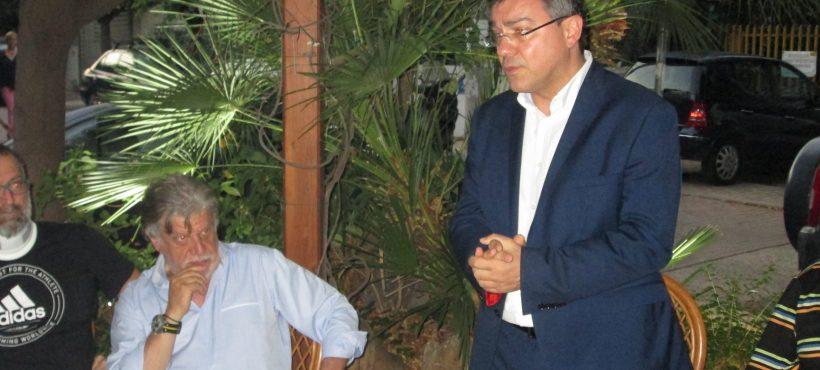 Συνάντηση με φίλους στη Ν. Χαλκηδόνα παρουσία του νέου Δημάρχου – 13.06.2019