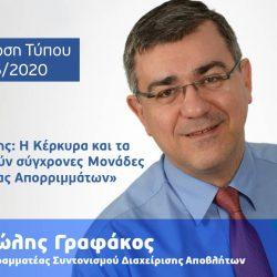 Κ. Χατζηδάκης: Η Κέρκυρα και τα Τρίκαλα αποκτούν σύγχρονες Μονάδες Επεξεργασίας Απορριμμάτων